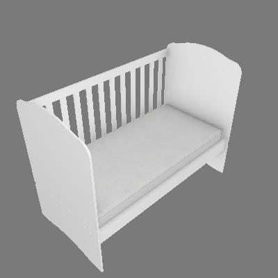 Berço-cama Bala de Menta (I02)
