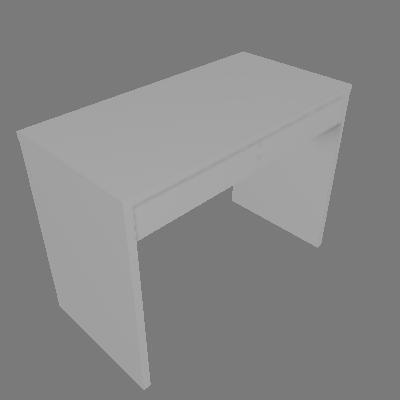 Mesa para Computador JB 6080 Branco Alto Brilho Móveis JB Bechara - JB Bechara
