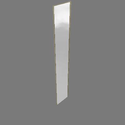 Porta Dobradiça Espelhada 40cm Prime Luciane (89596045)