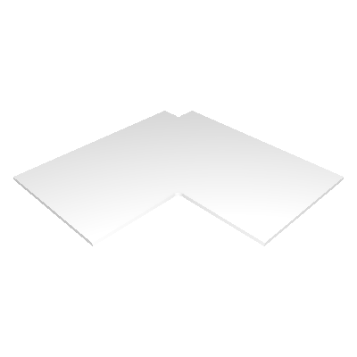 Prateleira de Canto 90° para Módulo de Canto (P543)