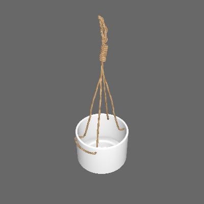 Vaso Cerâmica Rustic Natural Médio Marrom (89875051)