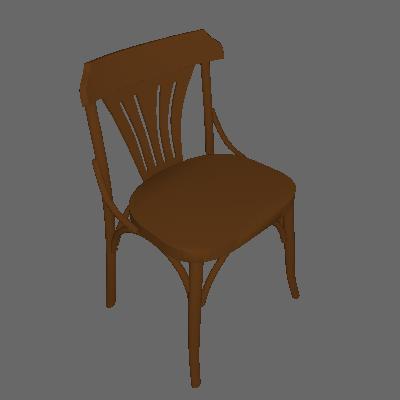 Cadeira de Jantar Opzione Imbuia - Mobly