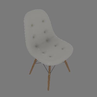 Cadeira Eiffel Botonê Branco - Rivatti