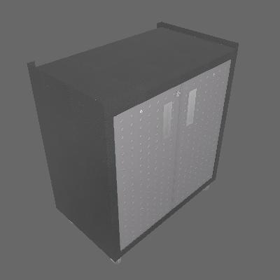 Balcão com 2 Portas com Rodízio (BALC 2PT)