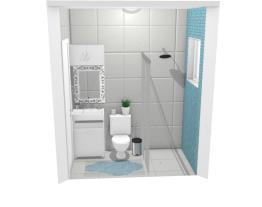 banheiro - flor de lis