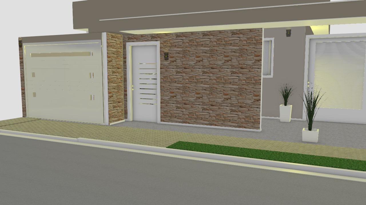 Projeto 2 - fachada muro