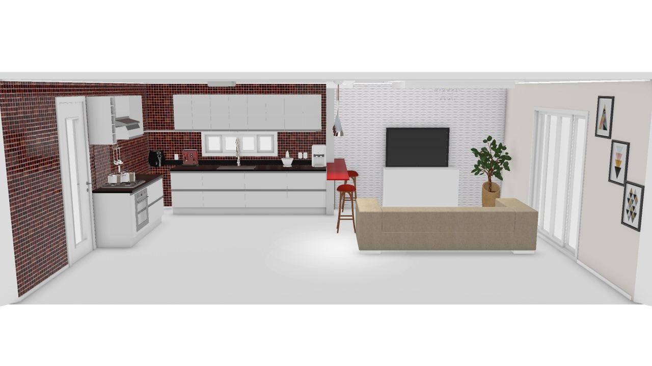 cozinha americana / sala