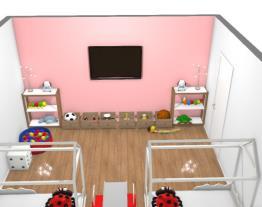 quarto de gêmeas - kids