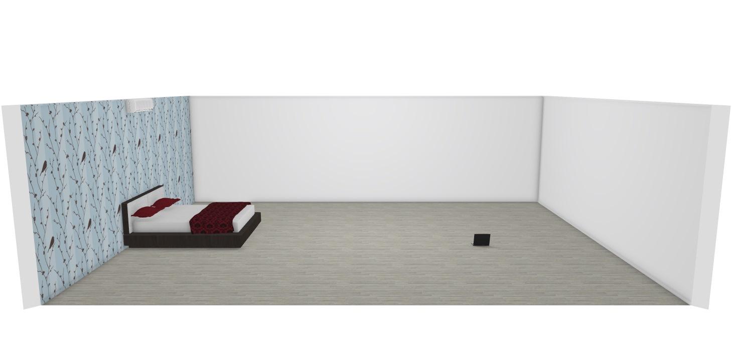 quarto de casal inacabado