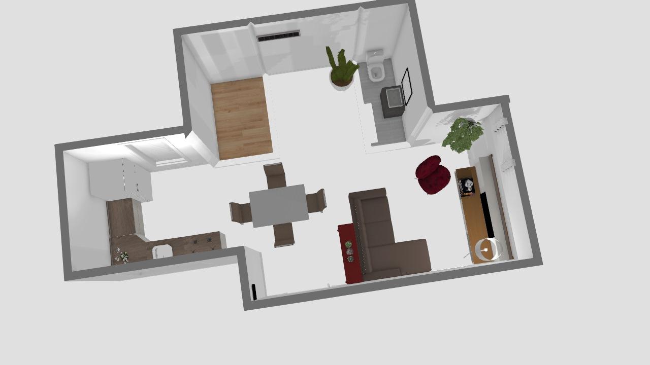 Nossa casa em tamanho realista