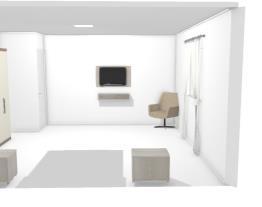 Meu projeto no Mooble, meu quarto