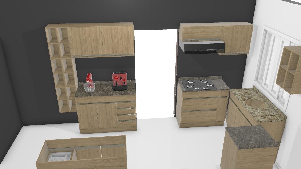 Cozinha Adorei - 2,35x1,48x4,00