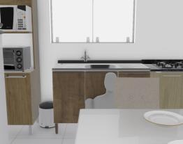 minha sala/ cozinha