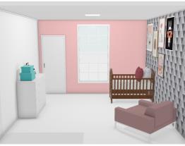 quarto de bebê.  casa 2