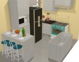 cozinha da cliente de glezia