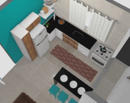 cozinha reta
