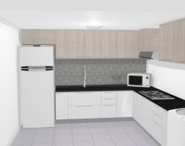 cozinha solaris carvalle com branco s/ pes