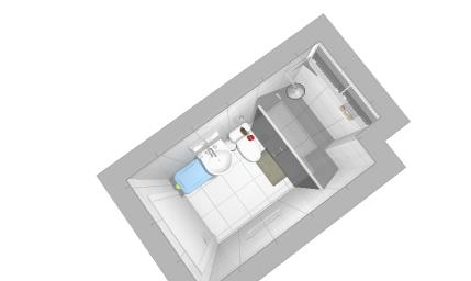 Banheiro - angulo 2