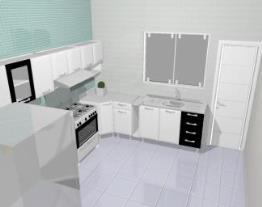 Cozinha aço Premium 9