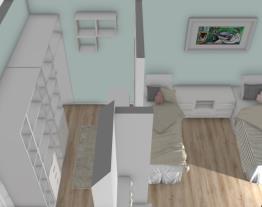 quarto para casal de irmaos