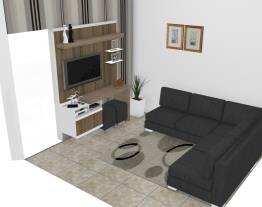 Sala de estar modificada
