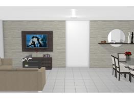 Minha Sala de estar e Sala de jantar conjugada