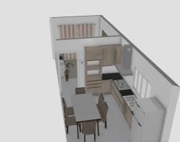 Sala e Cozinha Separada