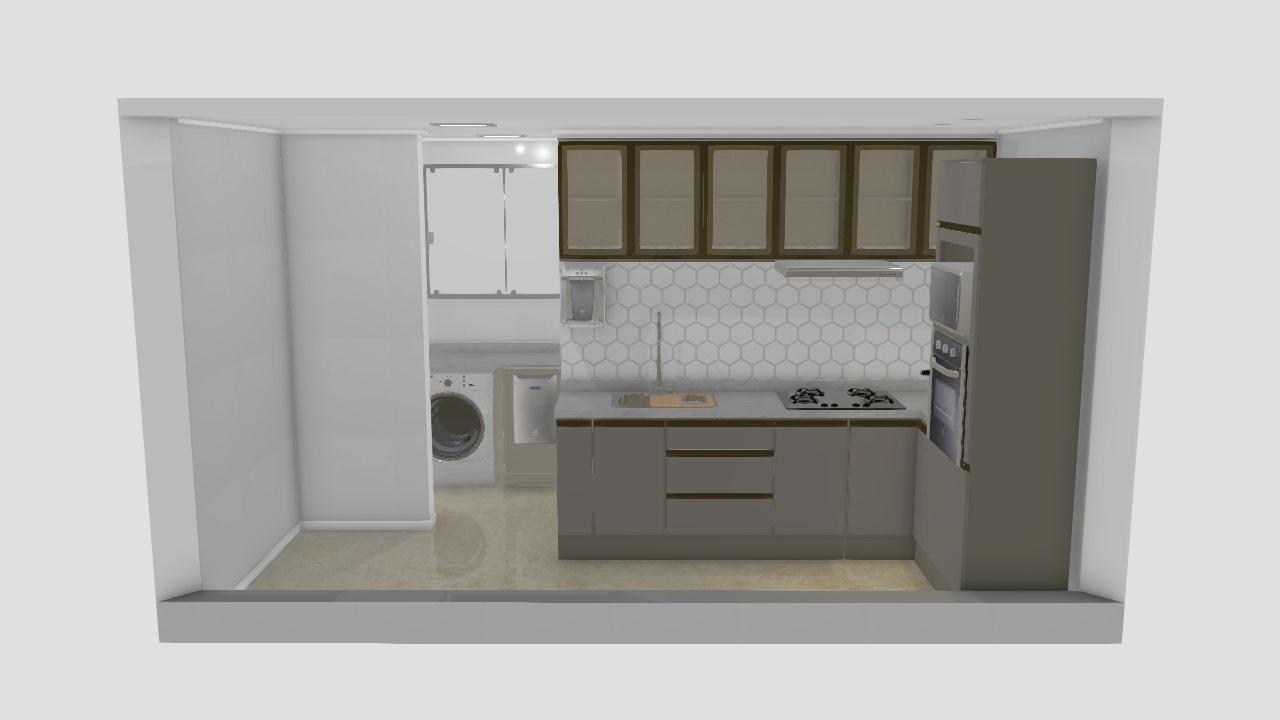 Cozinha + AS: OK3