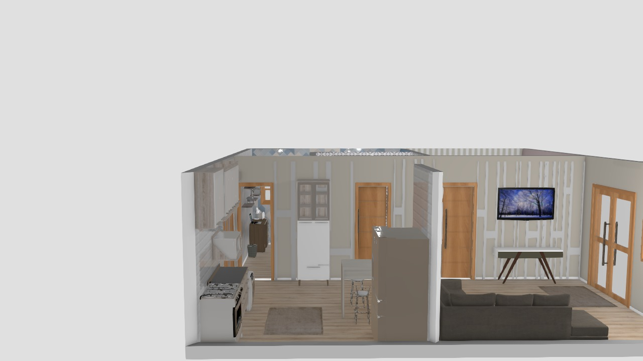Projeto casa Pequena 1 piso
