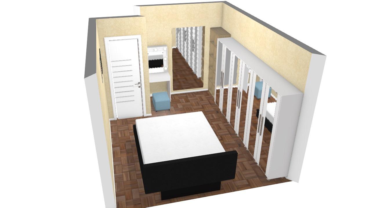 quarto casal com closet 2