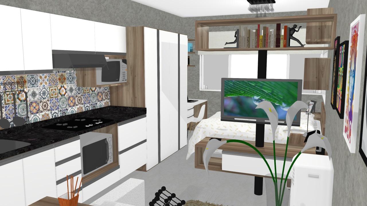 Apartamento de 30m2 v.4