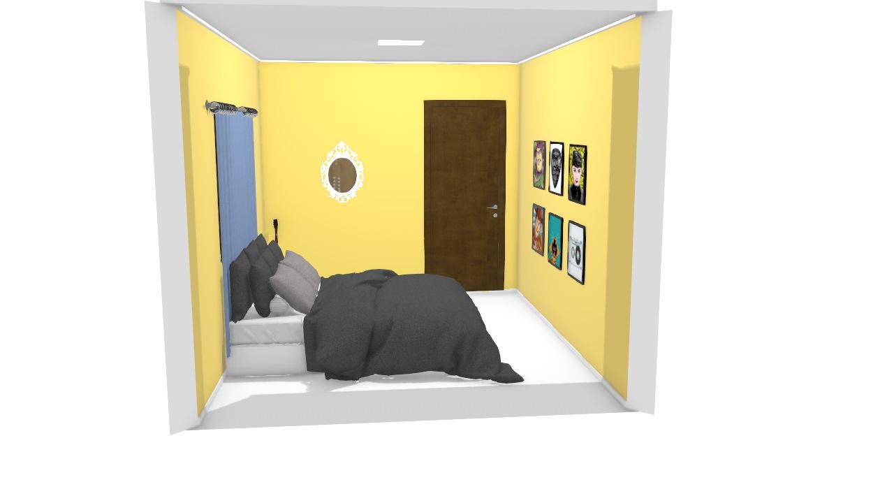quarto da casa nova