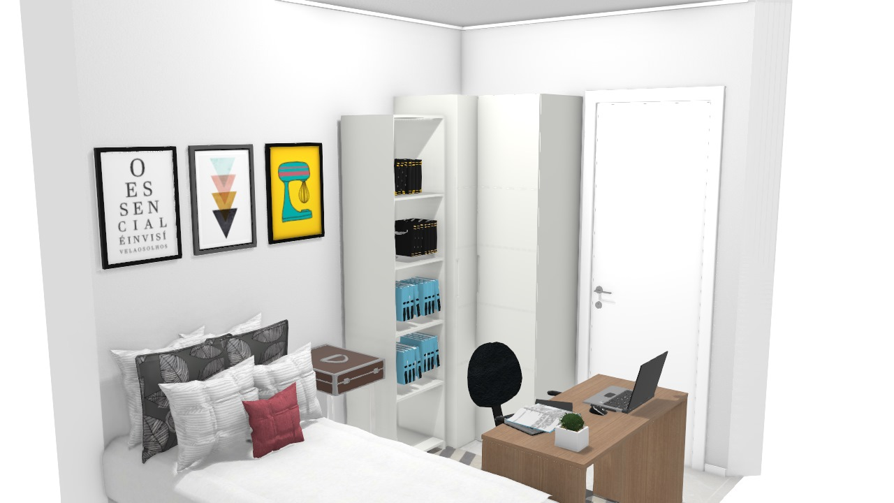 Projeto quarto novo