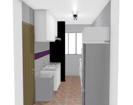 Cozinha e Área de Serviço - Eduarda