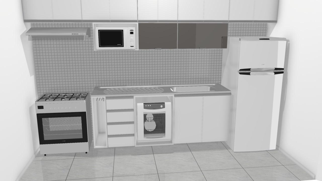 Cozinha Karina - Fogao Embutir