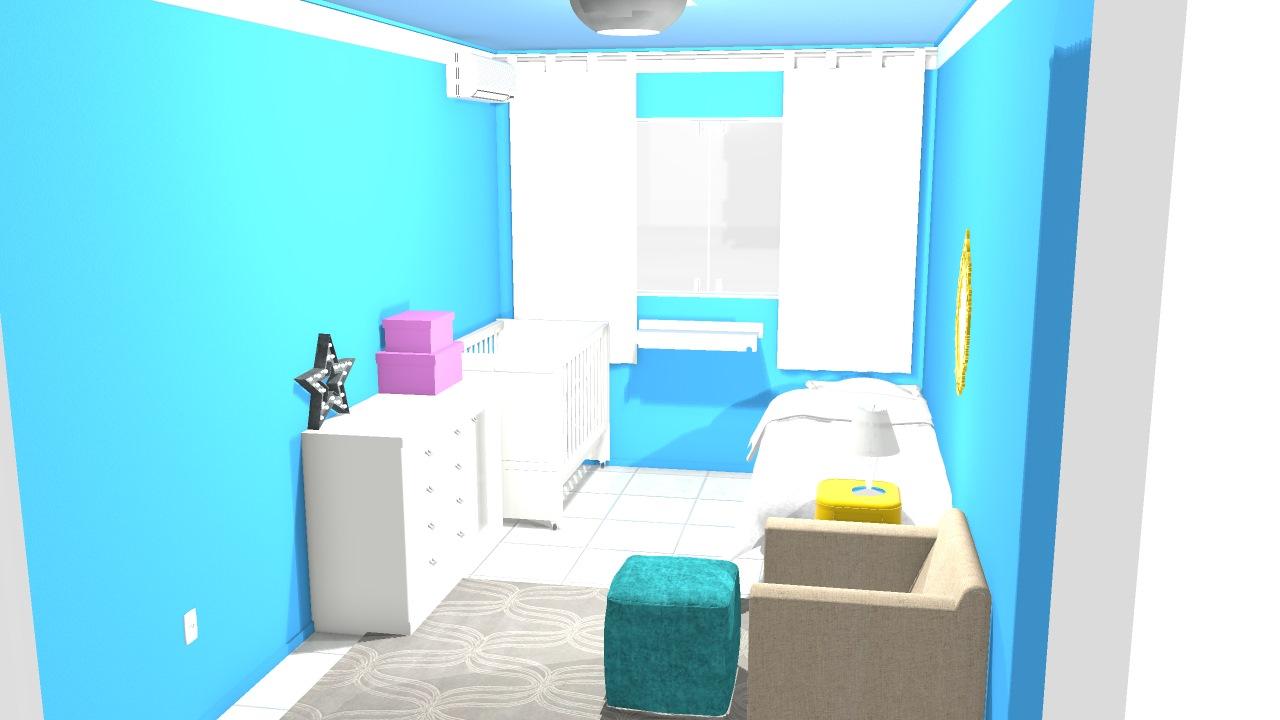 Meu projeto no Mooble quarto das crianças