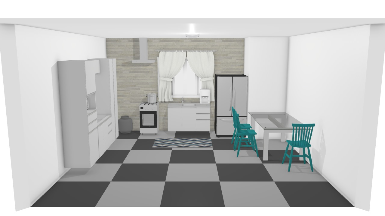 Cozinha altos
