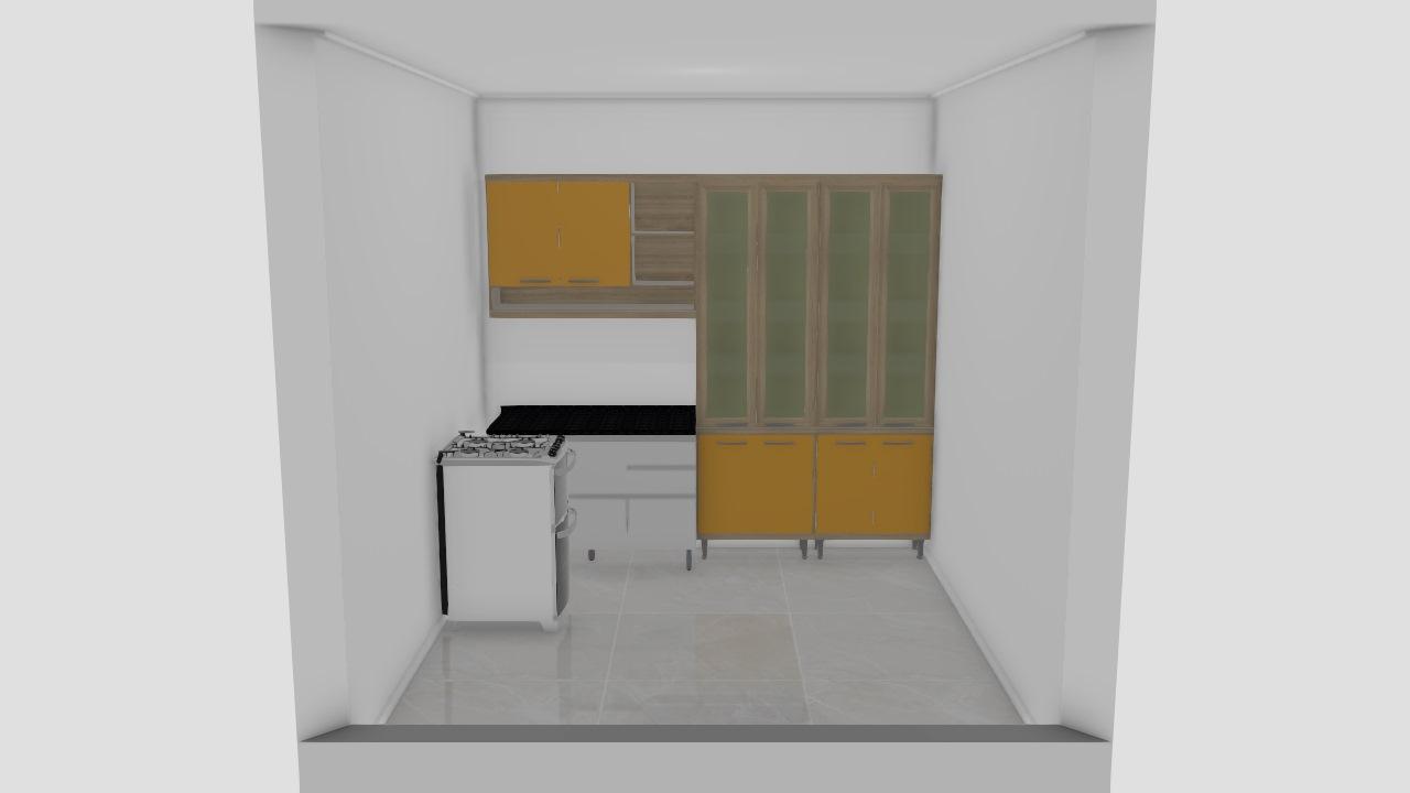 cozinha amarela 1