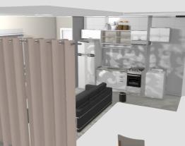 Cozinha Americana/sala