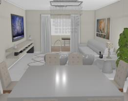 apartamento compacto de luxo