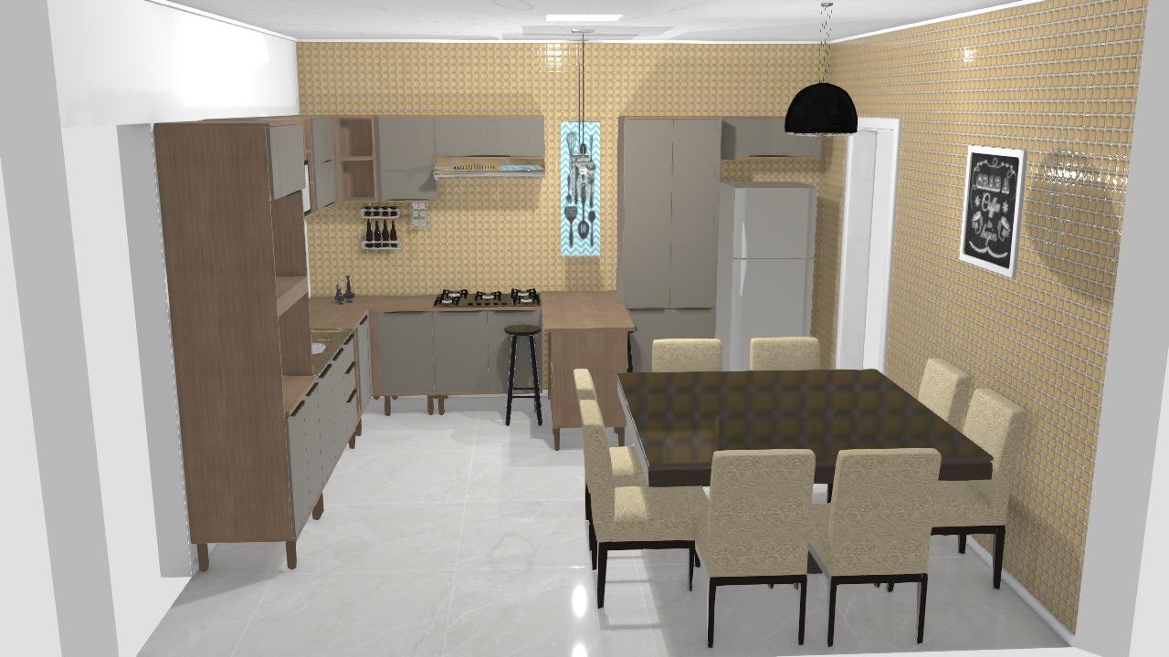 Meu projeto Visão Móveis   cozinha verace