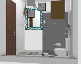 Banheiro lavatorio coluna