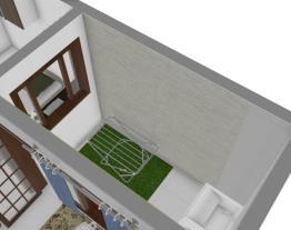 casa em terreno de 10x6 (60 mestros quadrados total