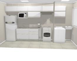 Cozinha apt 606 - Claudia