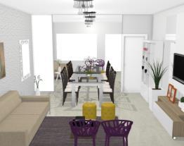 Salas estar e jantar - Lilian