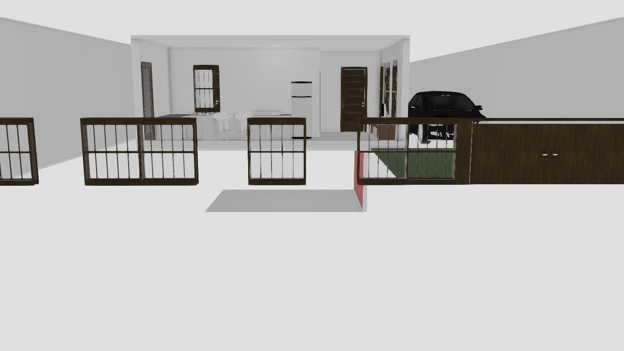Meu projeto no Mooble com garagem