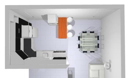 Sala / Sala de Jantar / Cozinha