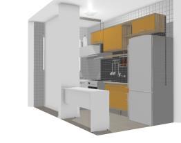 Cozinha e área de serviço | Plano & Cambuci 41m²