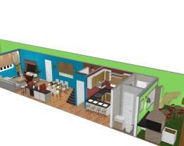 Amauri Casa baalbek morato piso salas cozinha