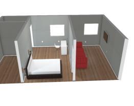 Sala e quarto.